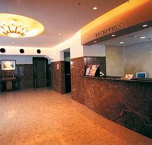 レトロなムードがお洒落なホテル。