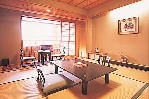 【和室8畳露天風呂付客室】日本海を独り占めできる露天風呂を完備(イメージ)