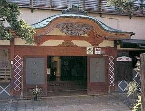 昭和初期に建築された重厚な佇まい