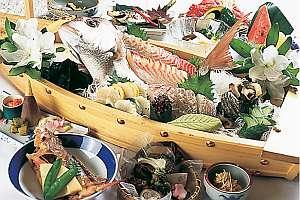 新鮮な瀬戸内のお魚をご用意しています