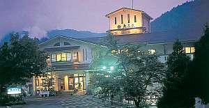筋湯温泉の高台に位置する絶景の宿