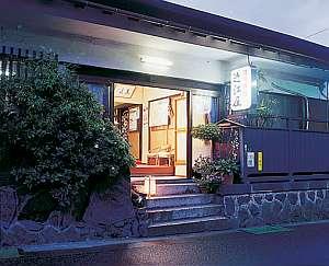 旧東海道沿いに佇む温泉旅館