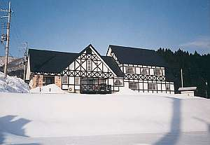冬になればフカフカの雪もたっぷり降ります