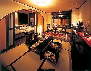 1日1組限定!客室露天風呂付き特別室 大正心 大正ロマネスクがコンセプト 皆様を和の異空間へと誘います