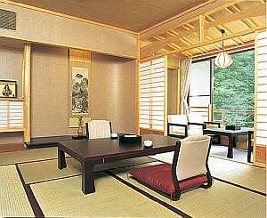◆渓流沿い数寄屋造り和室10畳※一例/丹沢を眺めゆっくり寛ぐ※一例