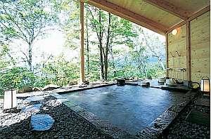 【ハイランドリゾート アゲイン】標高1750m絶景貸切露天 関東版泊まって良かった宿 風呂編入賞!