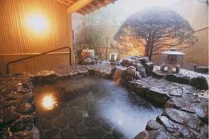 名水湧水付 露天風呂