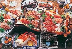 【お料理一例】新鮮な魚介類を惜しげもなく堪能できます