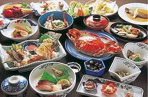 【一福荘】一度食べたらやみつき★竹崎ガニとボリューム満点の料理が自慢の宿
