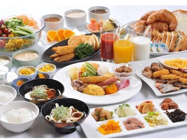 朝食バイキング【洋食イメージ】和洋50種類の豊富なシェフ特製健康メニュー♪
