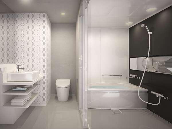トイレと別々の独立型バスルーム<イメージ>