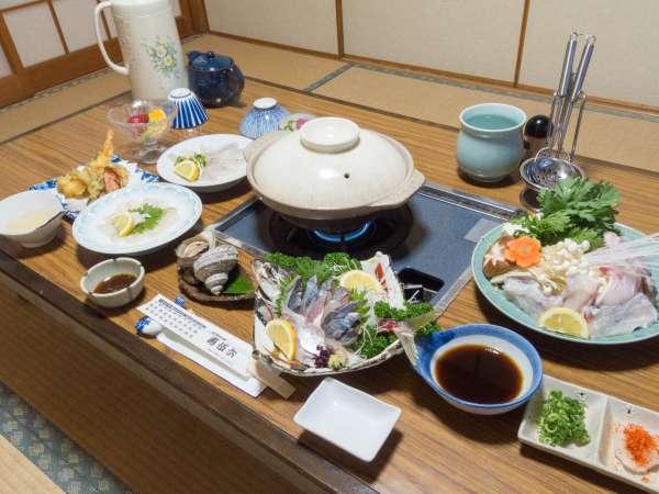*【お料理】新鮮な魚介類メインの和食会席料理
