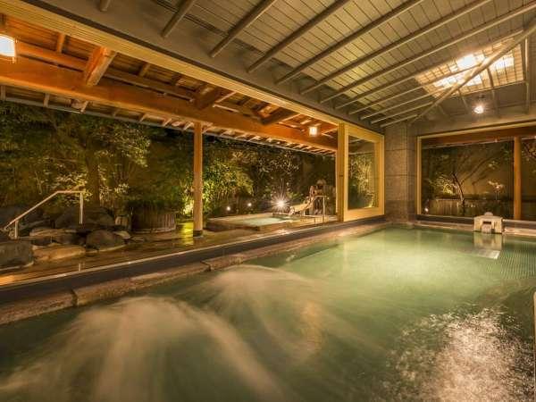 大浴場【女性・内風呂】ミネラルや塩分を含んだ弓ヶ浜温泉をお愉しみください。