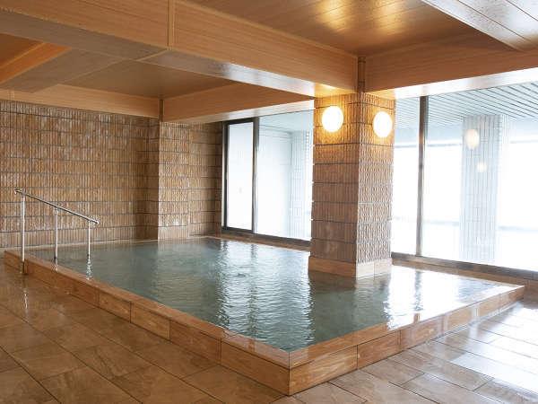男女大浴場。こちらも海眺望です。
