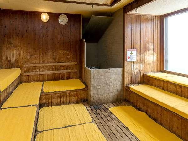 【パコの湯】男性サウナ(12階) 深夜時間帯2:00~6:00は休止いたします。