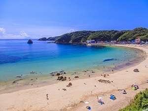 【外浦海岸】当館より一番近い砂浜です