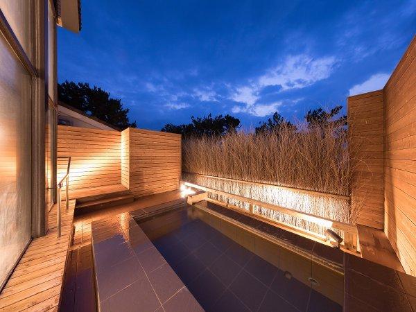うずしお温泉の露天風呂