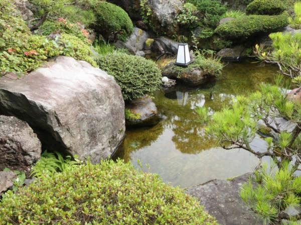 中庭での風景