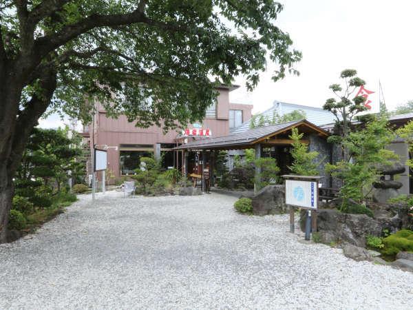 旅館熔岩温泉の外観
