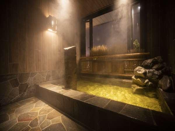 ■貸切風呂【芦別・岩風呂】9階湯温41℃・3名様程度でご利用頂けます
