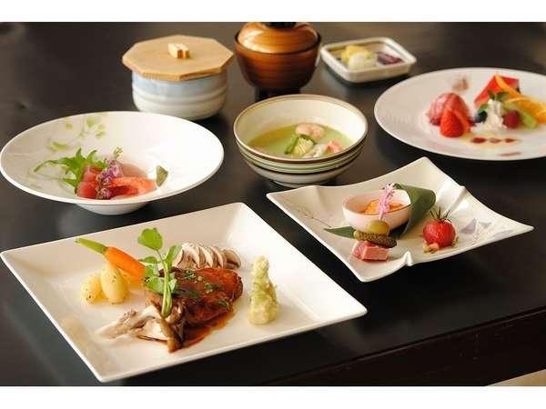 和洋食ディナーコース~彩~ 一例 ホテル人気プラン2食付き対象お料理