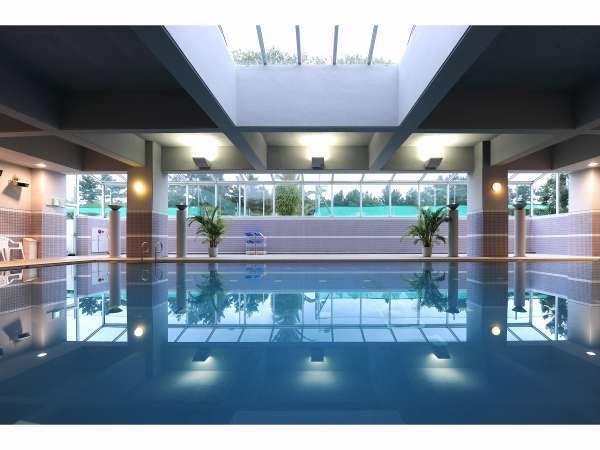 【無料】室内温水プール営業時間 10:00~21:00 お泊まりのお客様のみ利用可