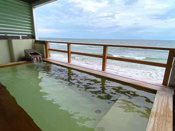 【オテル・ド・マロニエ内海温泉】海辺の会員制リゾートホテル。海一望の露天風呂で温泉を満喫。
