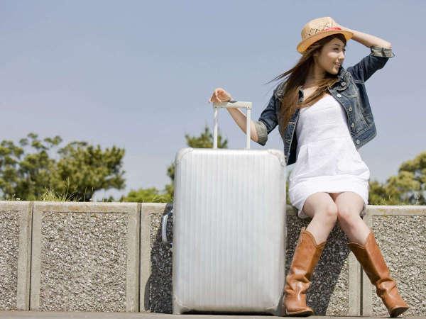 【気軽な旅に】一人旅でも気軽に使えてイイネ!正面玄関もセキュリティがあり安心。