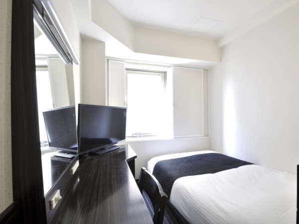【シングルルーム】9平米/120cm幅ベッド1台