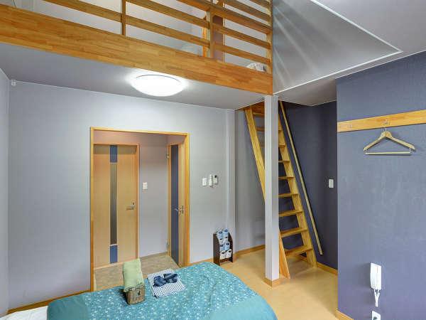 *【洋室◆ロフト付】ツインベッドルームにロフトがついたお部屋。