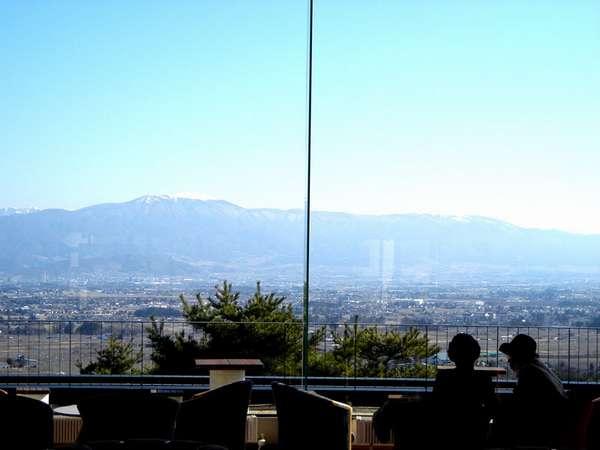 *ロビーからの眺め!ため息が出るほどの大パノラマが広がります!