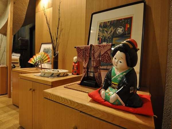 【ロビー】徳島市内では数少ない旅館をお楽しみ下さい。