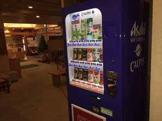 自動販売機1階