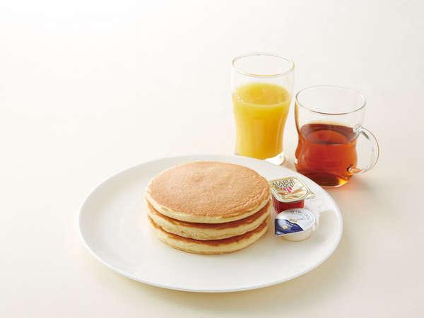 ジョナサンの朝食 パンケーキ