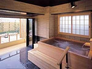 趣の異なる3つの貸切庭園露天風呂【風香の湯】三の湯
