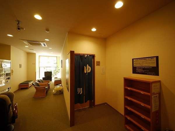 ◆男性大浴場:リラックスルーム隣が入口です。
