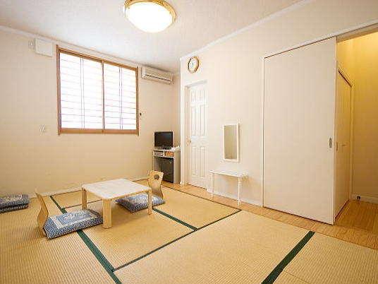 7.5畳+αスペースのある純和風タイプの和室
