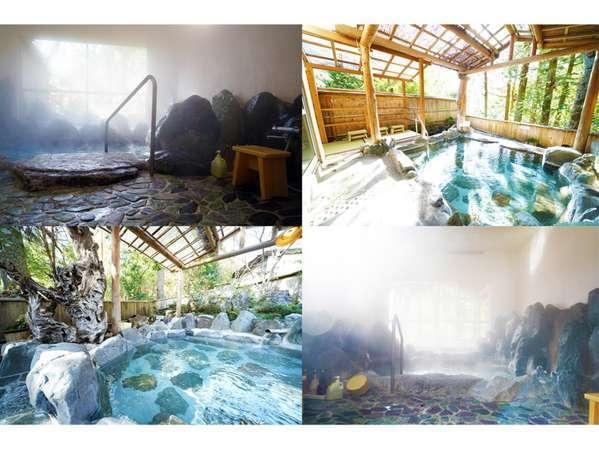 【貸切風呂 大野木荘】☆4つの貸切風呂が7月23日オープンします☆