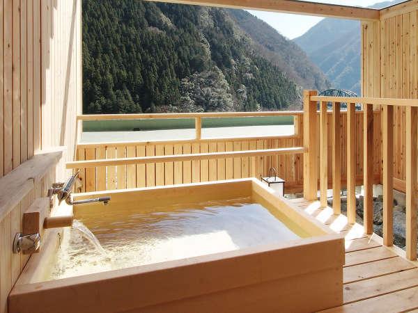 露天風呂付客室(陶器風呂・檜風呂はお選びいただけません)