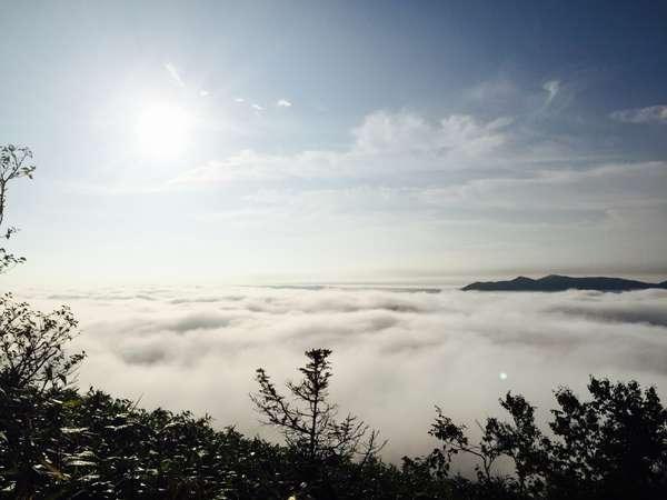 トマムの雲海★宿から車で25分の距離!観光に便利な宿です