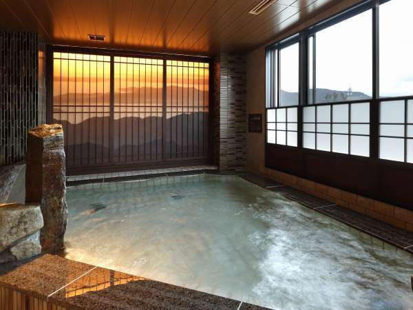 ■天然温泉大浴場 内湯【男性】