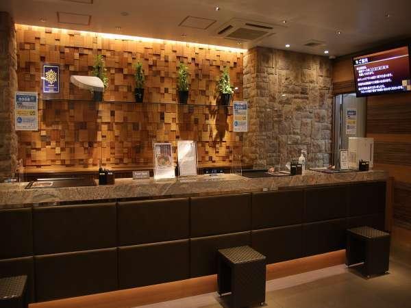 ◆1階 フロントカウンター