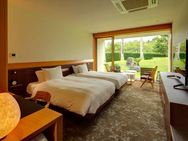 【グランヴィラ 最大4客室+専用LDK&スパ貸切】ゲストルーム(一例)