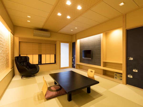 全面改装露天風呂付 12畳和室 禁煙室 (一例)