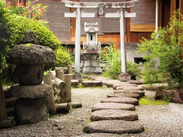 ●庭園3Fのお部屋に面した庭園です。