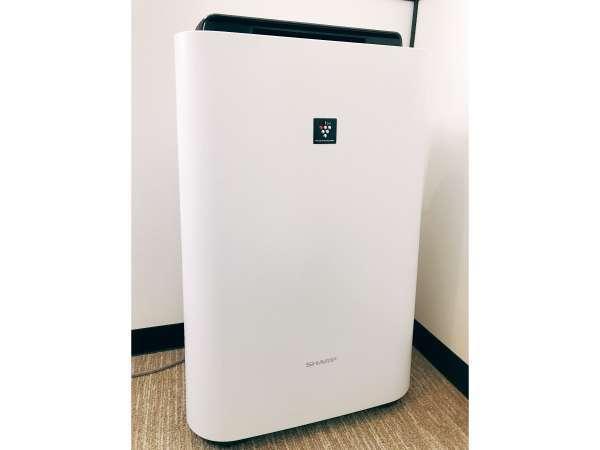 ◆空気清浄機(加湿機能付)が全室に完備◆プラズマクラスター♪