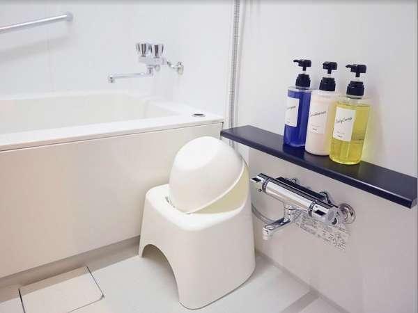 お湯の温度調節もシャワーと浴槽でバラバラに温度調節可能!!