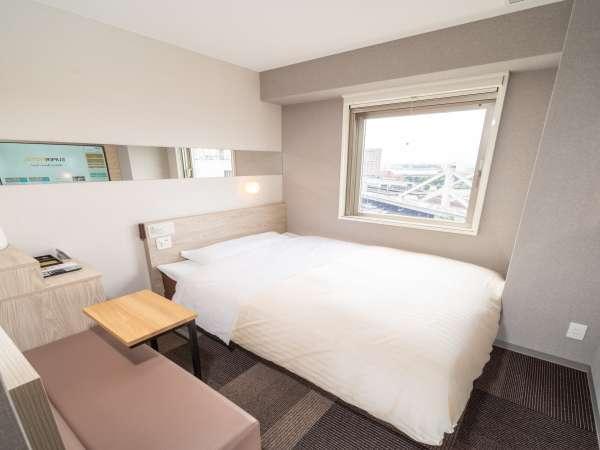 【スタンダード】眠りを追及した150cm幅のワイドベッドと適度な硬さのマットでぐっすり