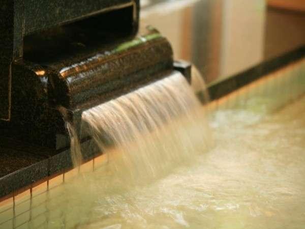 いつでも清潔なお湯を循環しております。