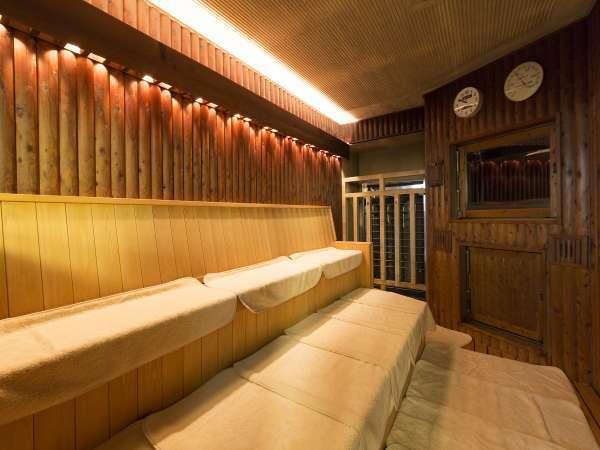 2階大浴場内のサウナ